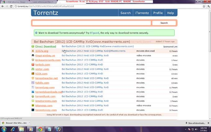 how to download movies from bittorrent step by step